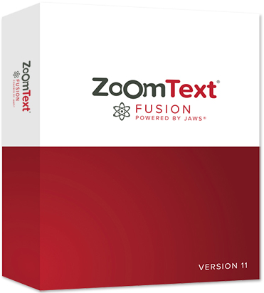 ZoomText Fusion verpakking