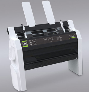 Index braille printer