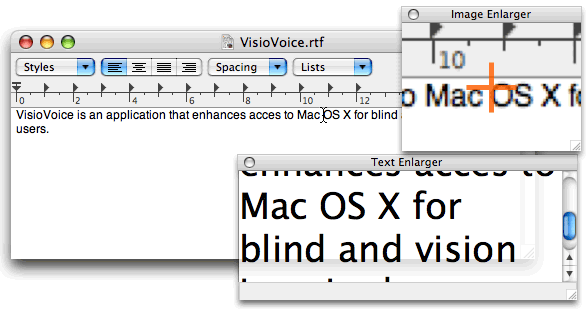 Screenshot VisioVoice
